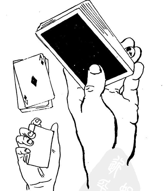 大拇指魔术图解