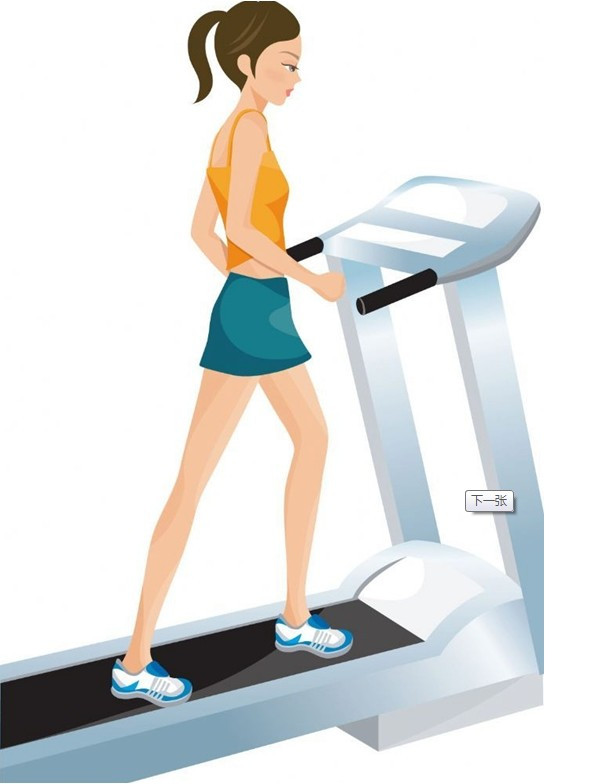 跑步和行走的人物素材