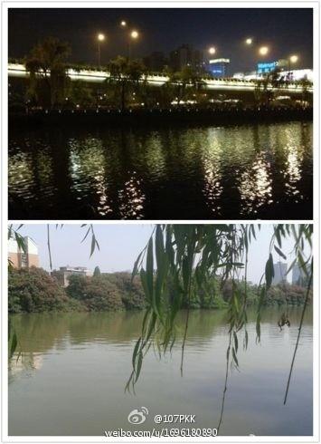[原创] 今凌晨 两点多 杭州 一男子 梦游 裸泳 贴沙河(图)
