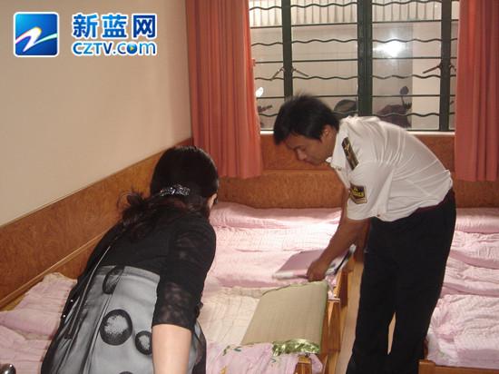 浙江省纤维检验局抽查幼儿园