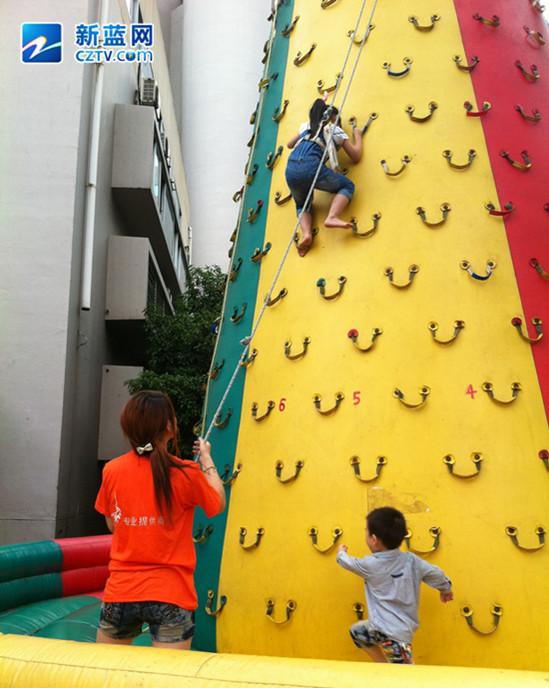 童博会攀岩竞技
