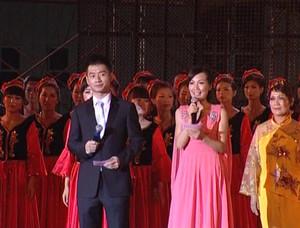 2012年文成县第二届音舞节广场舞比赛