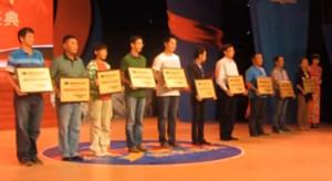 中国轮滑三十年颁奖盛典在海宁举行