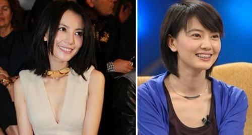 杨幂刘诗诗众女星17岁照片对比