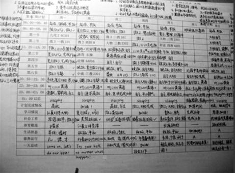 清华双胞胎最牛v初中计划表初中赞网友(图)女神教案辨析语文病句图片