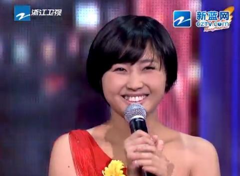 """《中国梦想秀》""""可爱村花""""覃璐"""