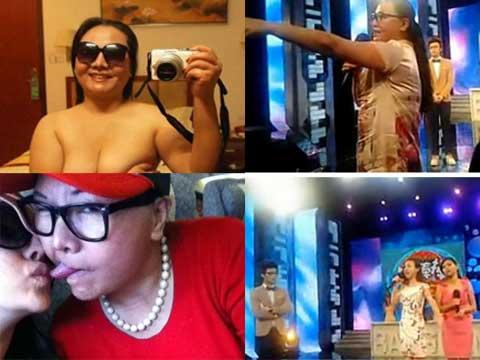 摸妈妈的大奶子_干露露母亲放话节目组给钱让我们骂 干妈妈自拍裸照舌吻女儿