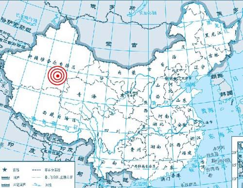 7度,东经88.0度)发生5.1级地震,震源深度9公里.