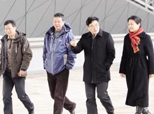 省体育局局长李云林 视察金华市体育中心