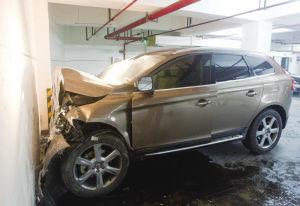领出驾照第一天地下车库撞墙 保险公司赔了21万