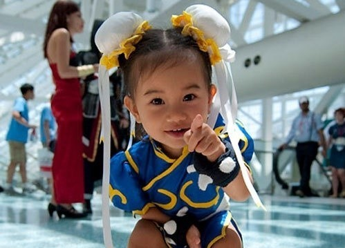 超爆笑的儿童萌版cosplay