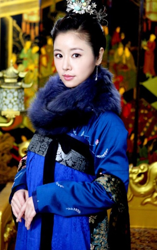 盘点绝色古装蓝衣女子