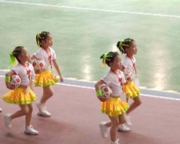 浙江省第六届幼儿体育大会在海宁开幕
