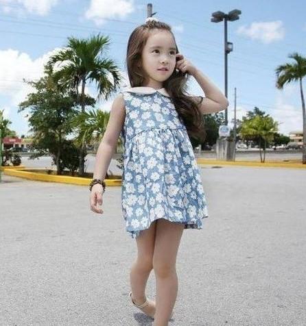 韩国6岁萝莉萌照走红 网友:韩国也有不整容美女