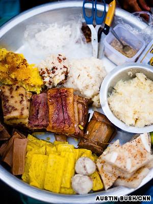 缅甸之旅错过不可美食的10酒店吃大小的美食的丰盛图片