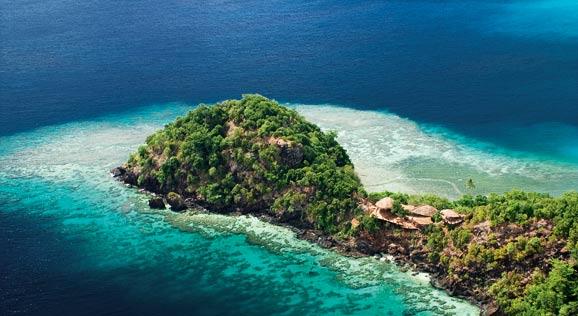 """""""海岛天堂""""斐济的私人度假时光"""