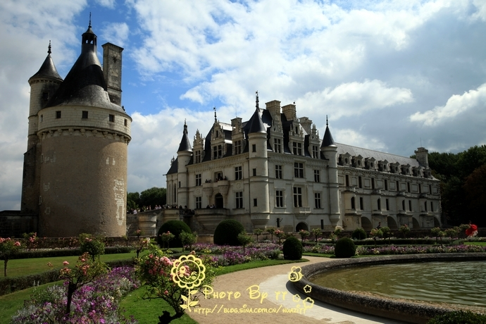 舍農索 最香艷的城堡