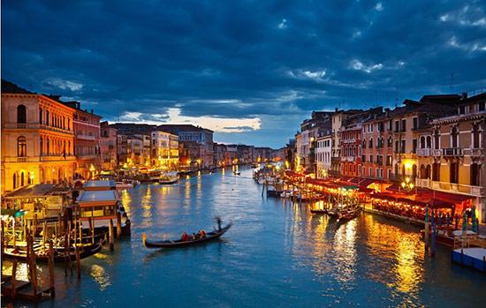 意大利威尼斯 浪漫的璀璨的明珠