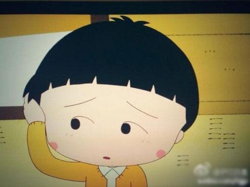 小丸子换新发型 酷似韩版《爸爸去哪儿》金民律图片图片