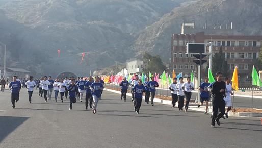 【玉环县】坎门:千人健身跑 奔向健康新生活