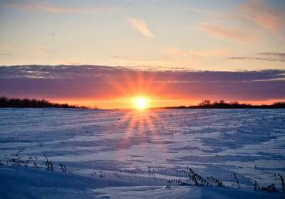全球冬日絕美雪景