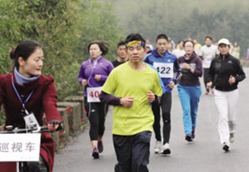 【绍兴市】举行首届马拉松比赛