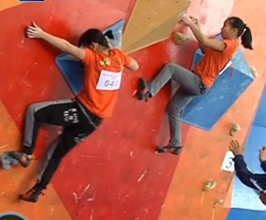 【安吉县】第三届攀岩锦标赛圆满结束