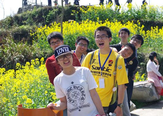 【开化县】举行首届台回山自由登山比赛