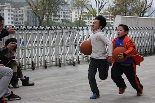 【开化县】天地外国语学校举行长跑比赛