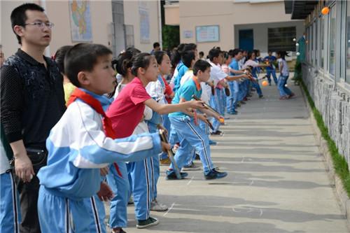 【开化县】北门小学举行第二届乒乓球对墙打、颠球比赛
