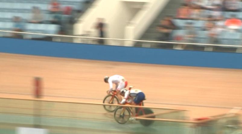 【自行车】全国场地自行车冠军赛决赛长兴举行