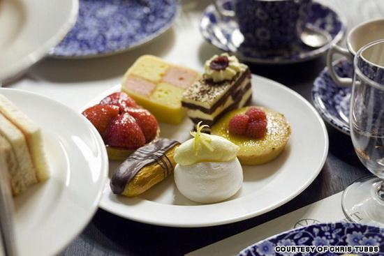 搜罗伦敦 享受英式下午茶最棒的四家餐厅