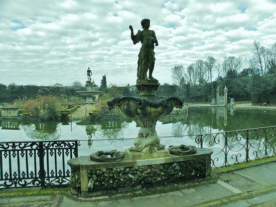 意大利佛罗伦萨贵族的后花园 波波利庭园