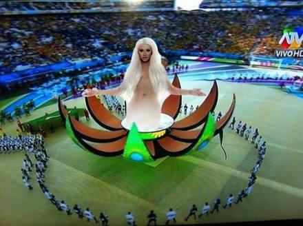 【世界杯】巴西世界杯开幕式的啊飘你看到了么