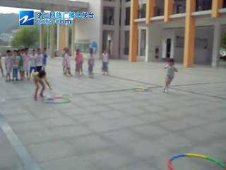 【开化县】天地外国语学校举行趣味接力比赛