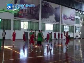 【西湖区】军警民共建篮球友谊赛,灵隐街道VS杭州植物园