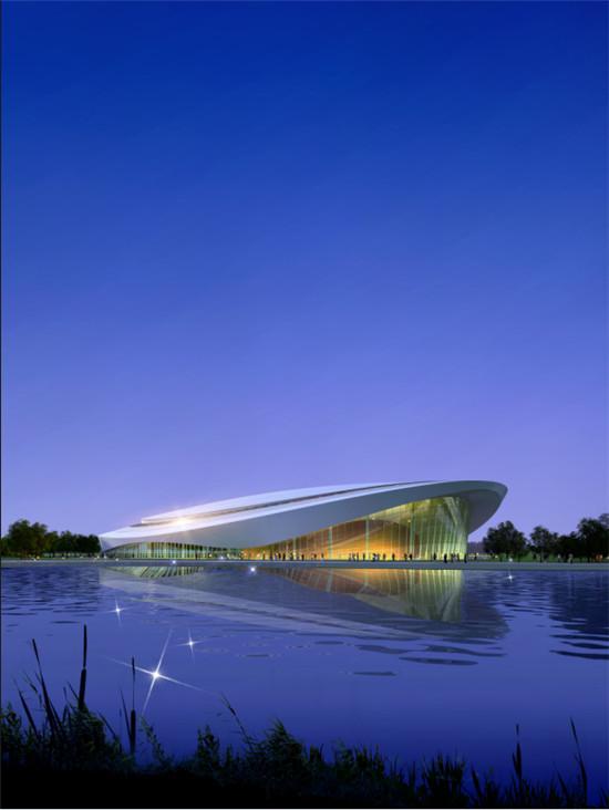 绍兴市奥体中心游泳馆(游泳比赛场地)