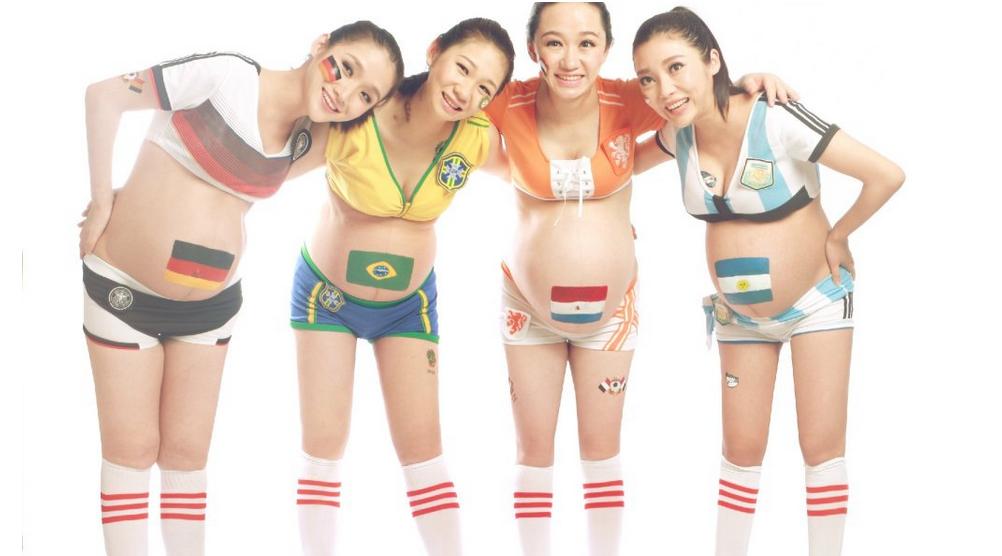【世界杯】四强孕妇足球宝贝:足球从胎教做起