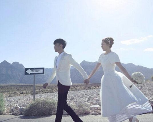 古巨基与助手陈英雪12日结婚图片