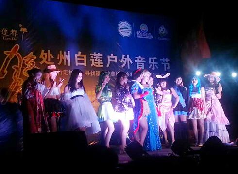 【丽水市】2014处州白莲户外音乐节成功举办