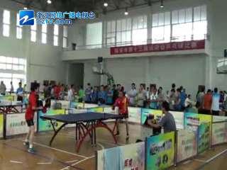 【临安市】第十三届运动会乒乓球比赛