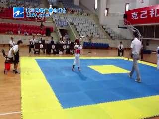 【建德市】2014年浙江省体育传统项目学校跆拳道比赛
