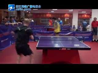 【拱墅区】米市巷街道2014年全民运动会乒乓球赛火热举行