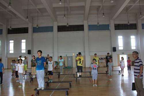 【桐乡市】市委书记卢跃东肯定江南船拳训练成果