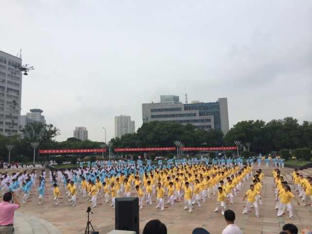 【全民健身日·宁波】海曙区太极拳展示活动