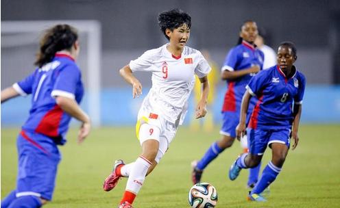 中国U15女足10-0纳米比亚