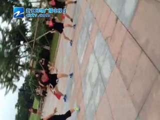 【瓯海区】全民健身日之健身舞协会晨练操