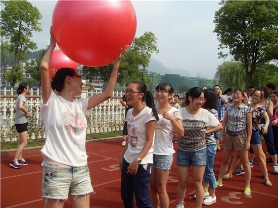 【开化县】天地外国语学校教工趣味运动会迎新学期