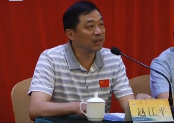 愿做一辈子体育人——记江山市体育局局长赵江平
