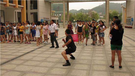 【开化县】天地外国语学校举行和谐校园小型趣味运动会